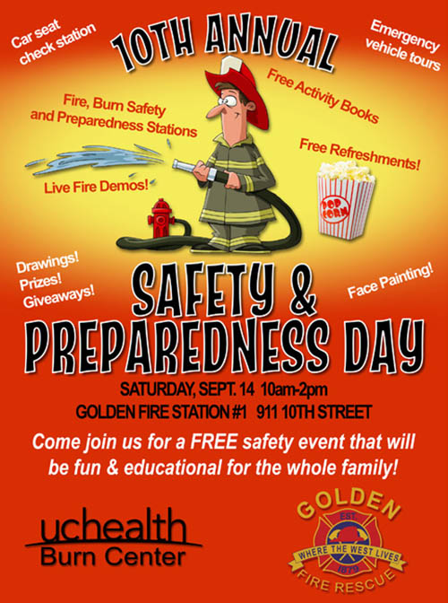10th Annual Safety & Preparedness Day @ Golden Fire Station | Golden | Colorado | United States