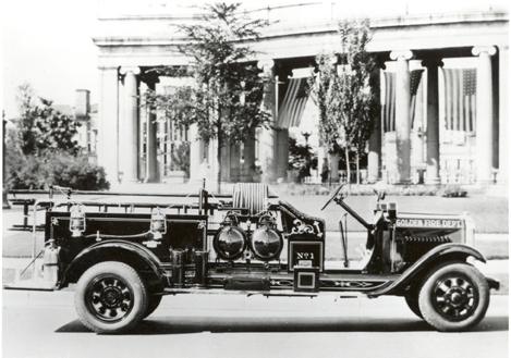 1919 1st Motorized Truck