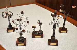 2014 Sustainability Award Trophies