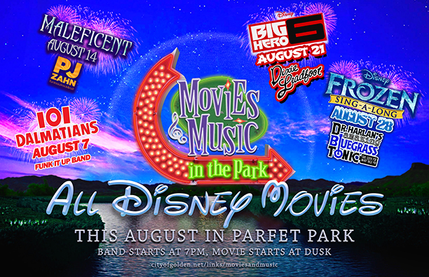 Golden Movies & Music in the Park