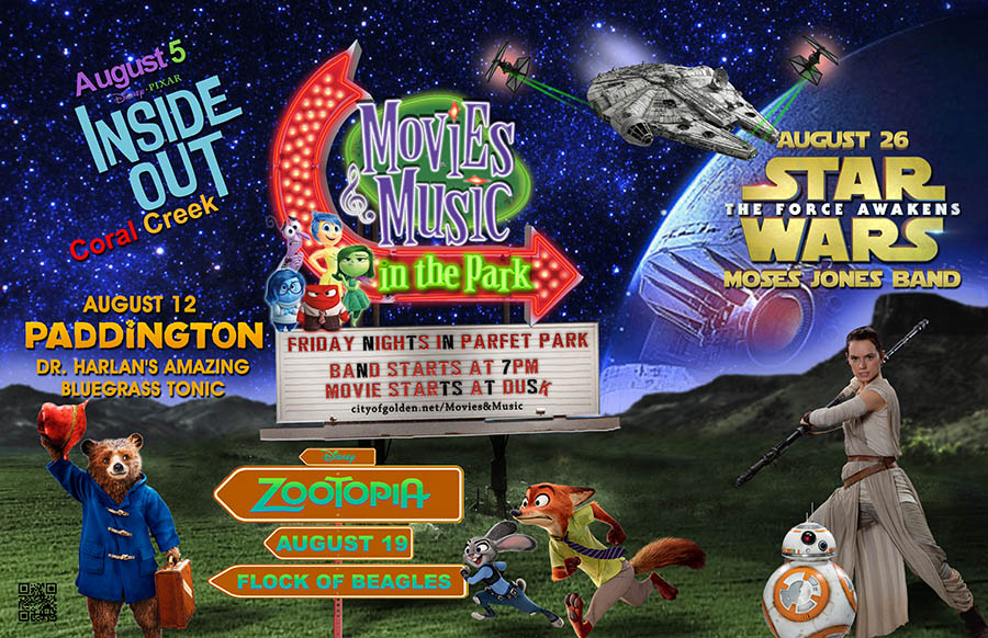 2016 Movies & Music in the Park