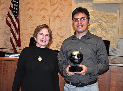 2016 Sustainability Award to Ali Moradi