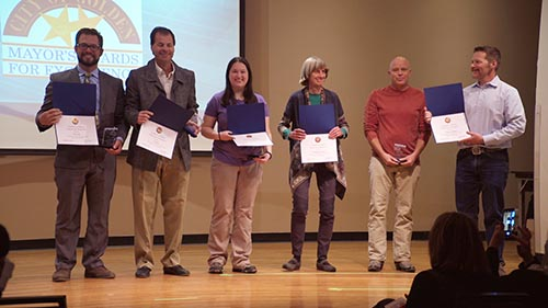 2017 Mayor's Awards Winners