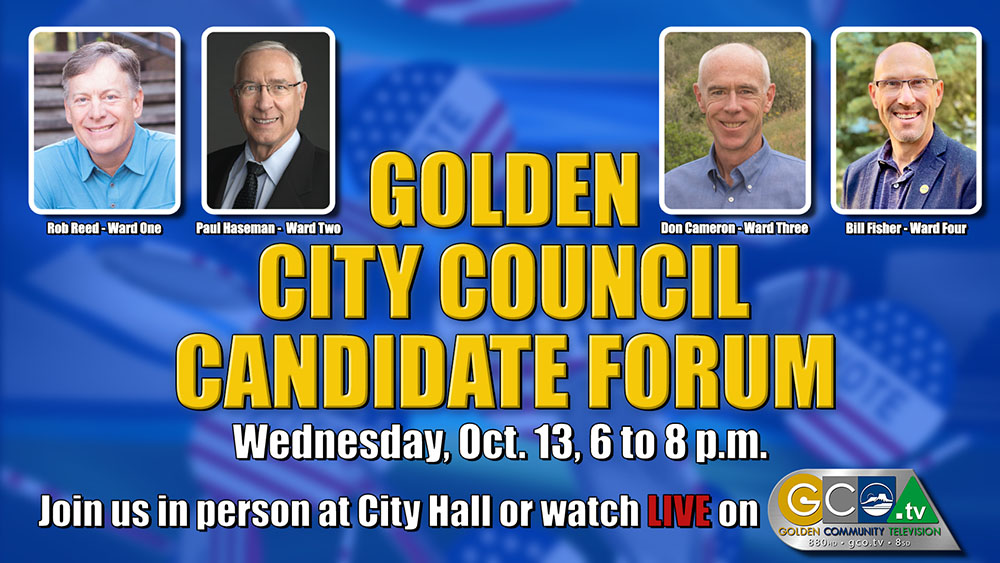 LGAA Candidate Forum @ Council Chambers | Golden | Colorado | United States
