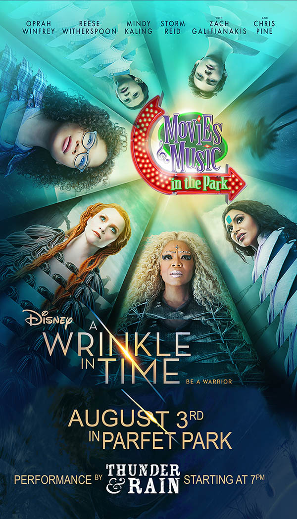 A Wrinkle in Time with music by Thunder & Rain