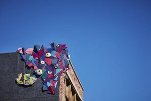 Yarn Bombing Golden's Public Art @ Downtown Golden