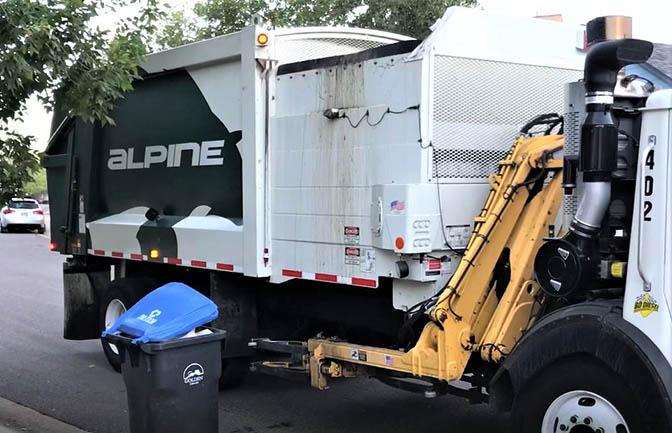 Alpine Waste Truck