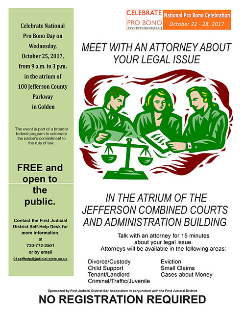 Ask an Attorney Event @ Jefferson County Courthouse