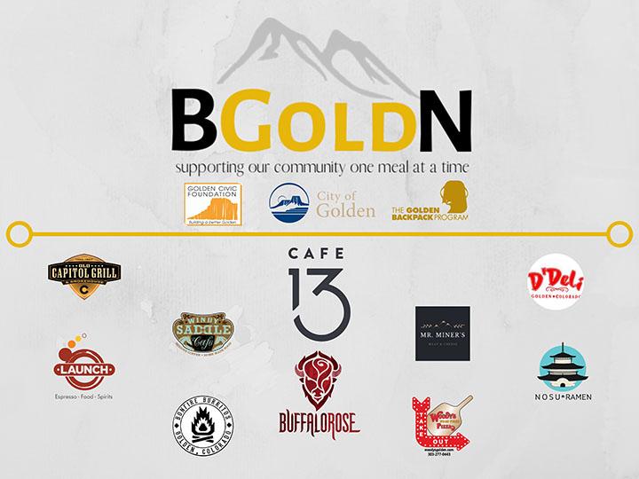 BGoldN logo with sponsor logos