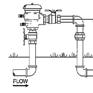 Pressure Vacuum Breaker Backflow Preventer