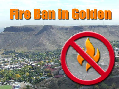 Fire Ban in Golden
