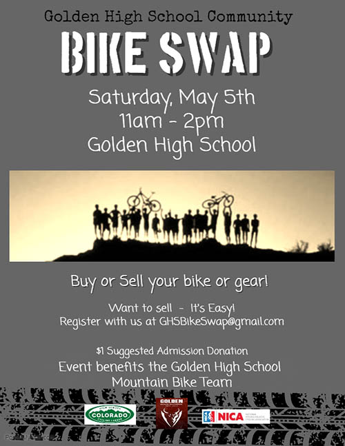 GHS Community Bike Swap @ Golden High School | Golden | Colorado | United States