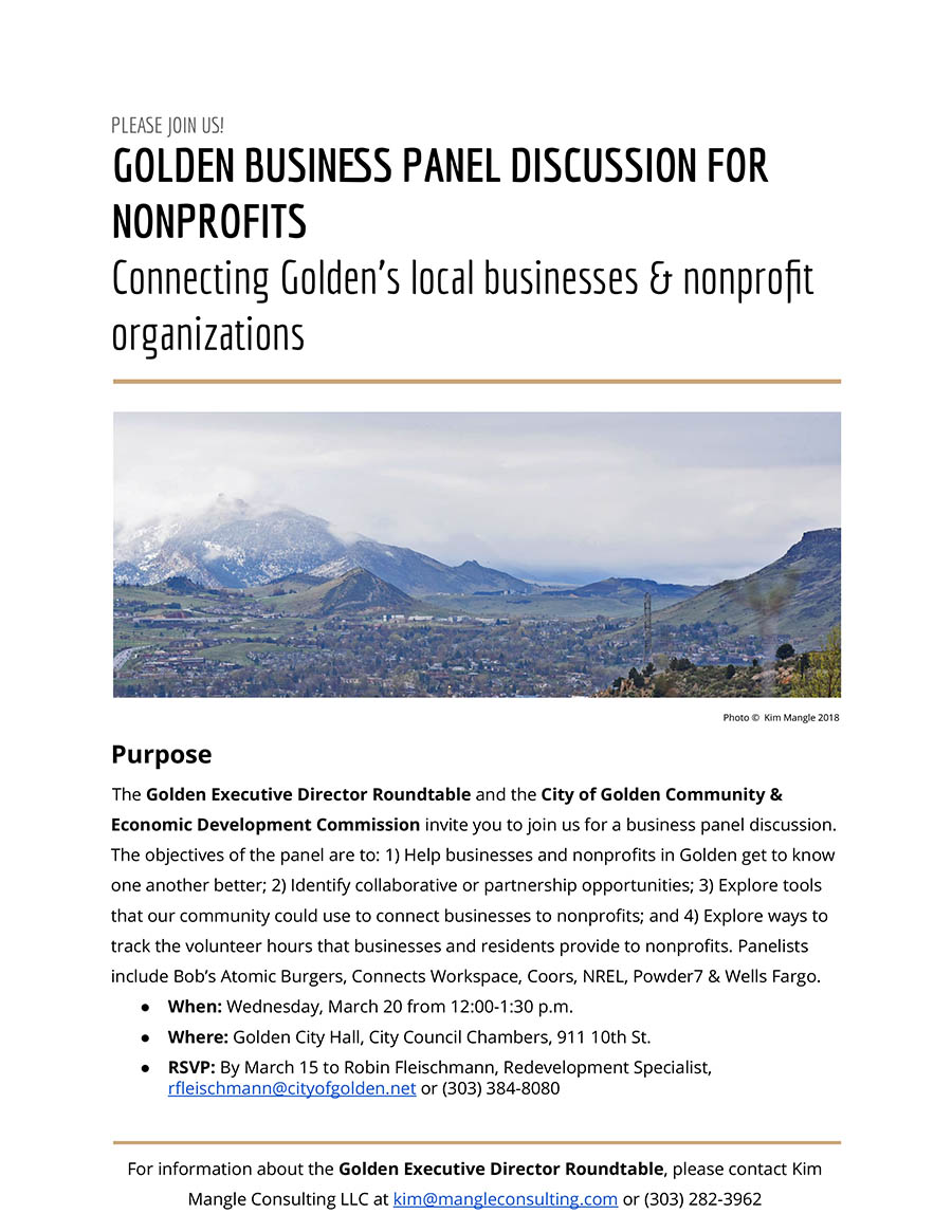 Business Panel on March 20 2019