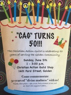 The Christian Action Guild 50th Birthday Celebration @ The Christian Action Guild