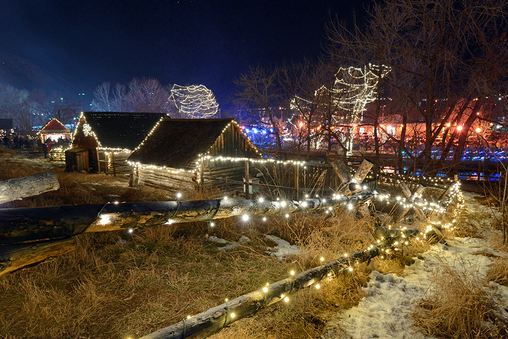 The Lights at Clear Creek History Park