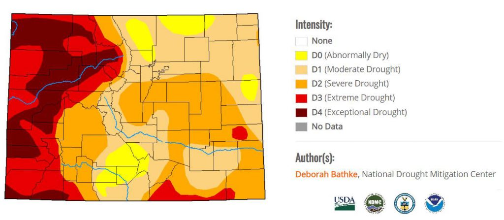 CO Drought Map