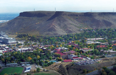 Castle Rock in the Fall
