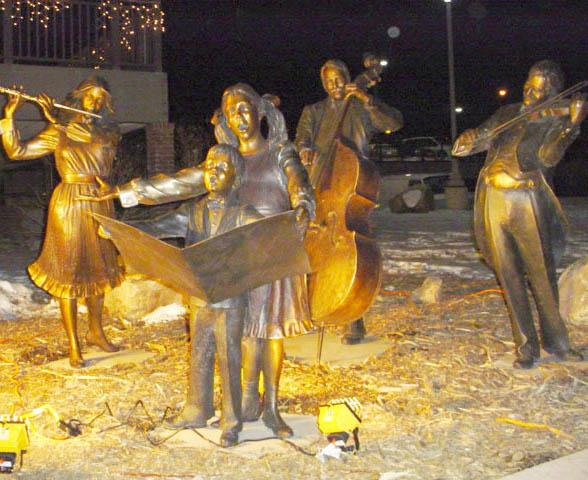 Choir at Golden Hotel