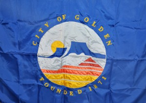 1996 Golden City Flag