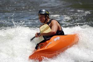Clear Creek Kayaker