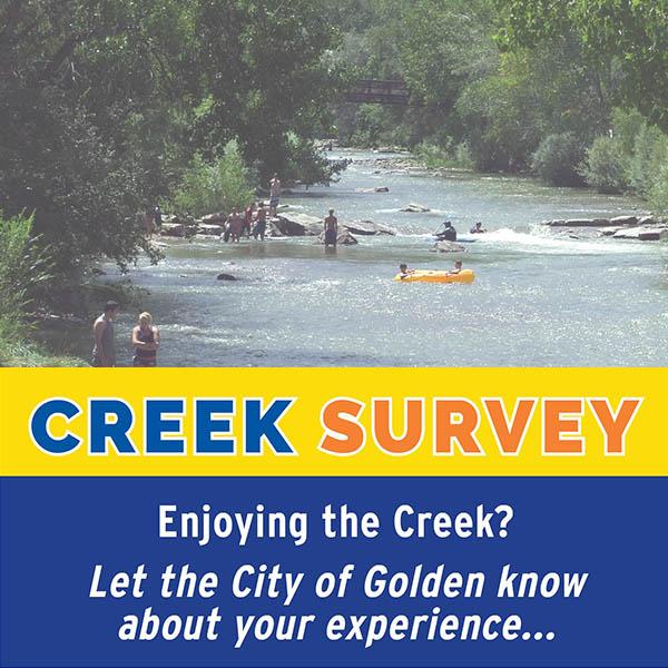 Please take the Creek Survey