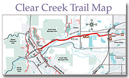 Clear Creek Visitor Information | City of Golden, Colorado on c&o towpath map, o c md map, c&o canal map,