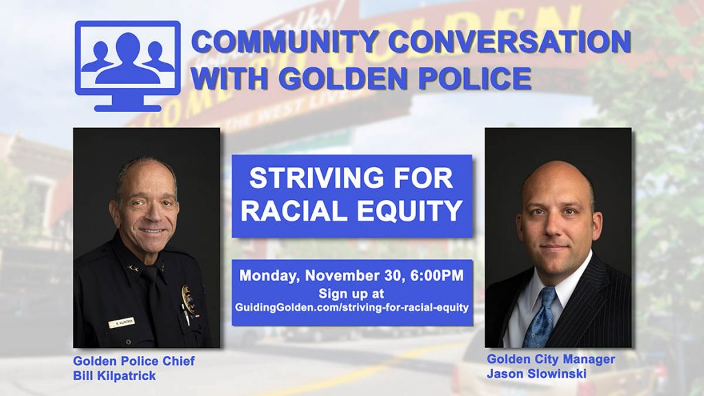 Community Conversation with the Golden Police