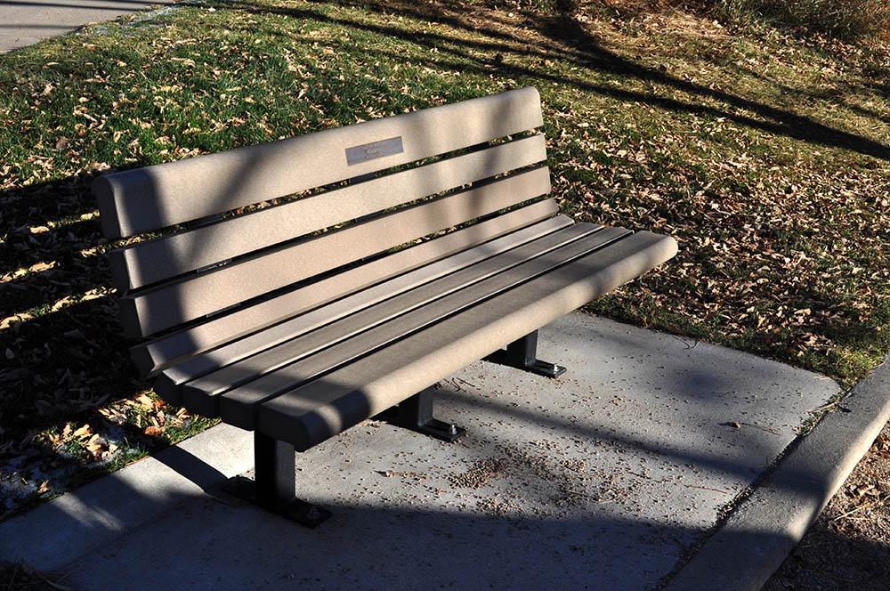 Cressman Gulch Park park bench