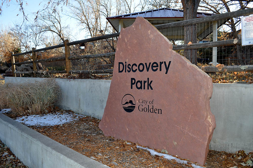 Discovery Park Sign