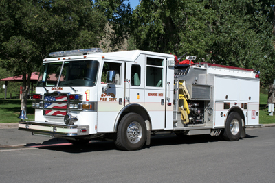 Golden Fire Department Engine 1