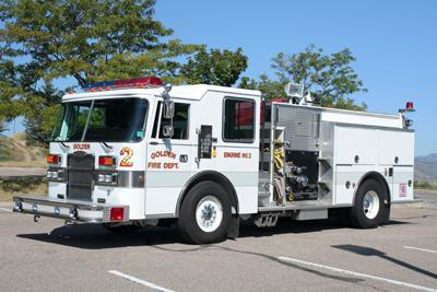 Golden Fire Department Engine 2