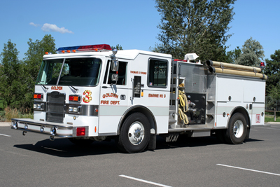 Golden Fire Department Engine 3