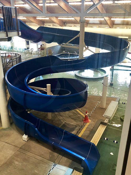 GCC Leisure Pool Slide