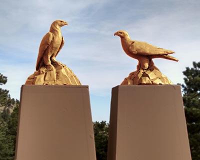 Golden Eagles Public Art Project