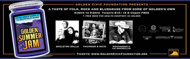 Golden Summer Jam 2017 @ Buffalo Rose