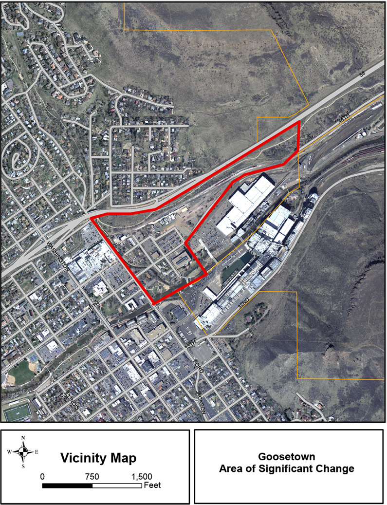 Goosetown Area of Significant Change