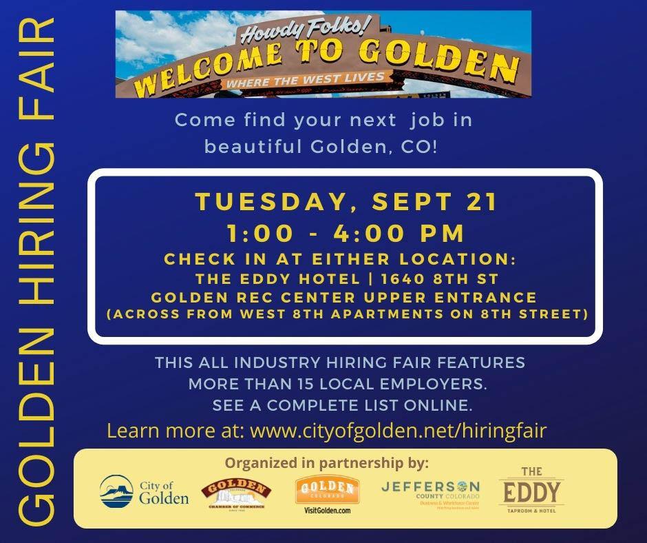 Golden Hiring Fair 9_21_21