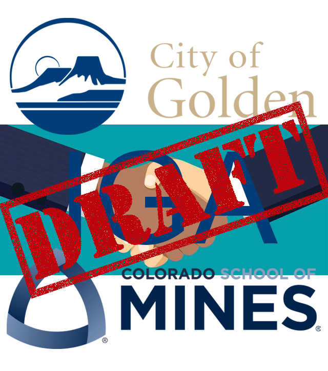 IGA Draft Agreement between Mines and Golden