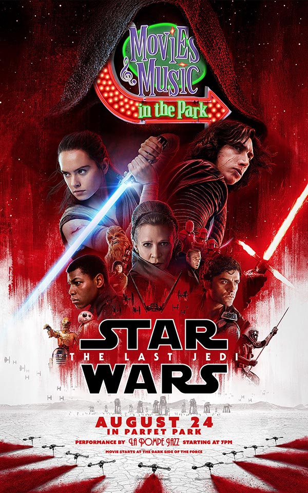 Star Wars: The Last Jedi with music by La Pompe Jazz