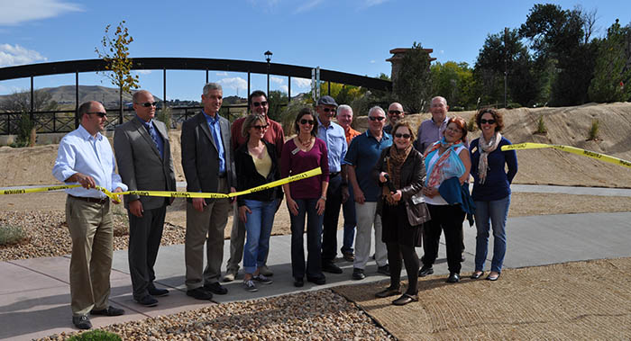Linking Lookout Ribbon Cutting