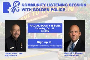 Community Listening Session with Golden Police