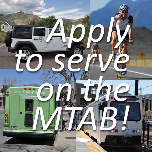 Apply to serve on the MTAB
