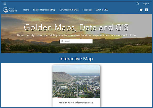 Maps, Data and GIS site