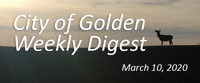 Weekly Digest March 10 2020