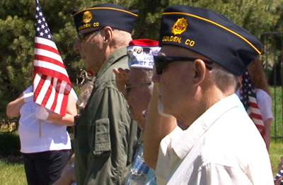 Memorial Day at Golden Cemetery