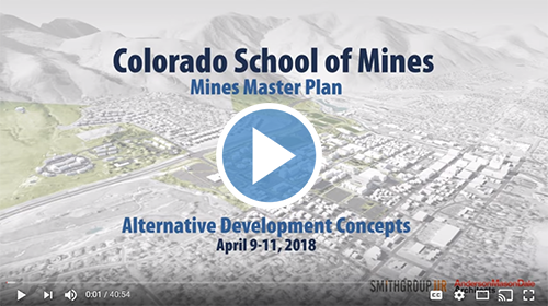 Mines Master Plan Project Public Open House @ Starzer Welcome Center