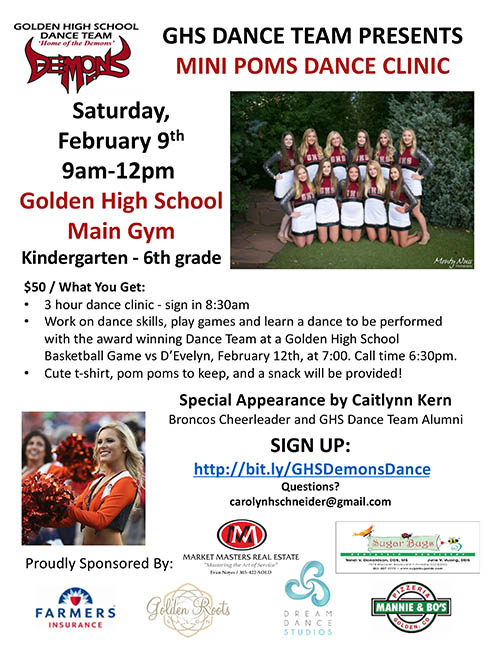 Mini Poms Dance Clinic