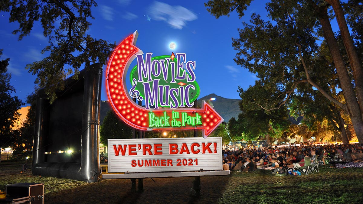 Movies and Music is back in the park in 2021