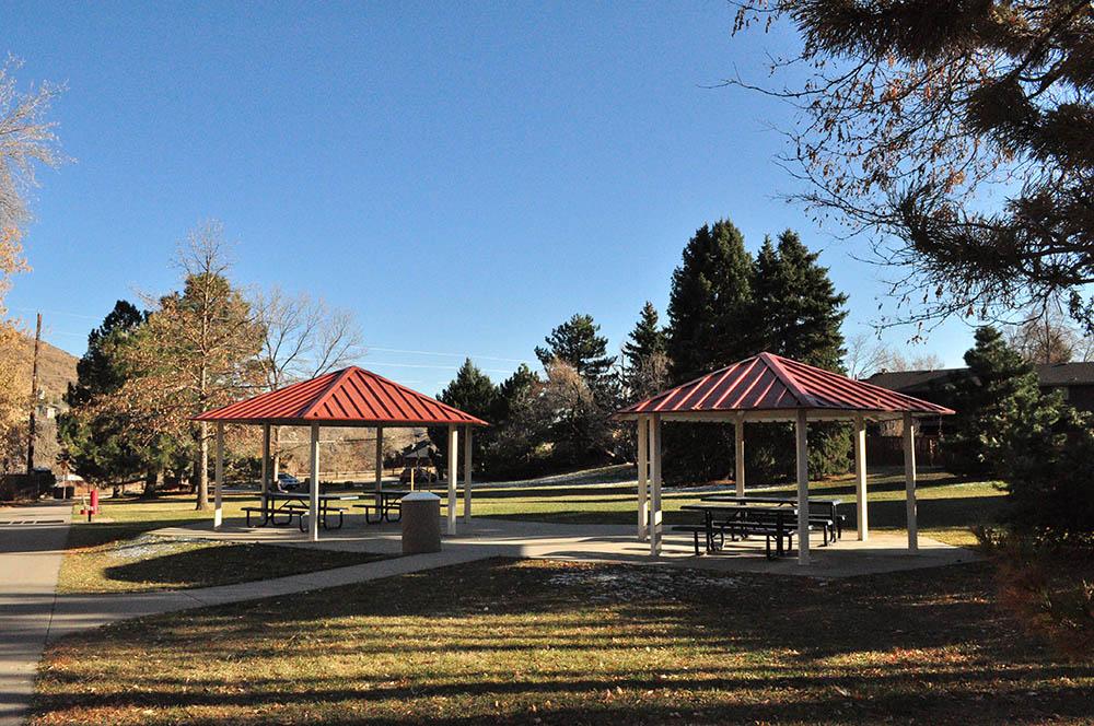 Norman D Memorial Park pavilions