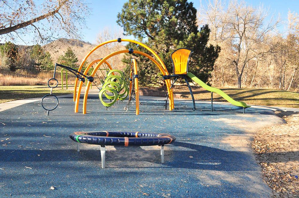 Norman D Memorial Park play structures